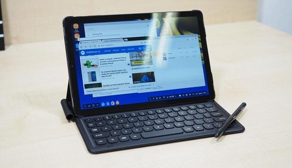 سامسونج جالاكسي تاب إس 4 يتميز بخاصية DeX لتجربة تشبه الكمبيوتر