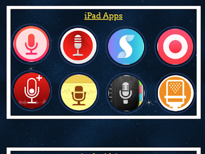 Audio recording Apps to Use in Your Instruction