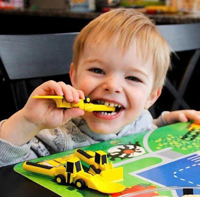 construction Utensils-Stocking Stuffer Ideas for Toddlers
