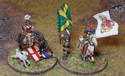 Warlord Games Prince Rupert of the Rhine and Scots Covenanter Command Stands
