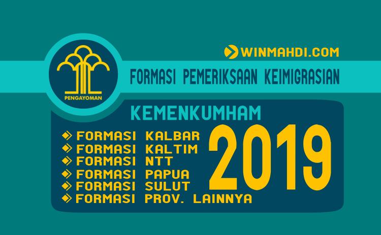 Formasi Pemeriksa Keimigrasian CPNS Kemenkumham 2019