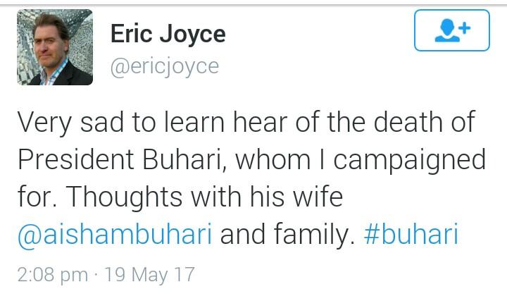 Buhari's death rumours