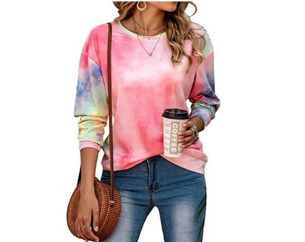 30%OFF Tie Dye Crewneck Sweatshirt