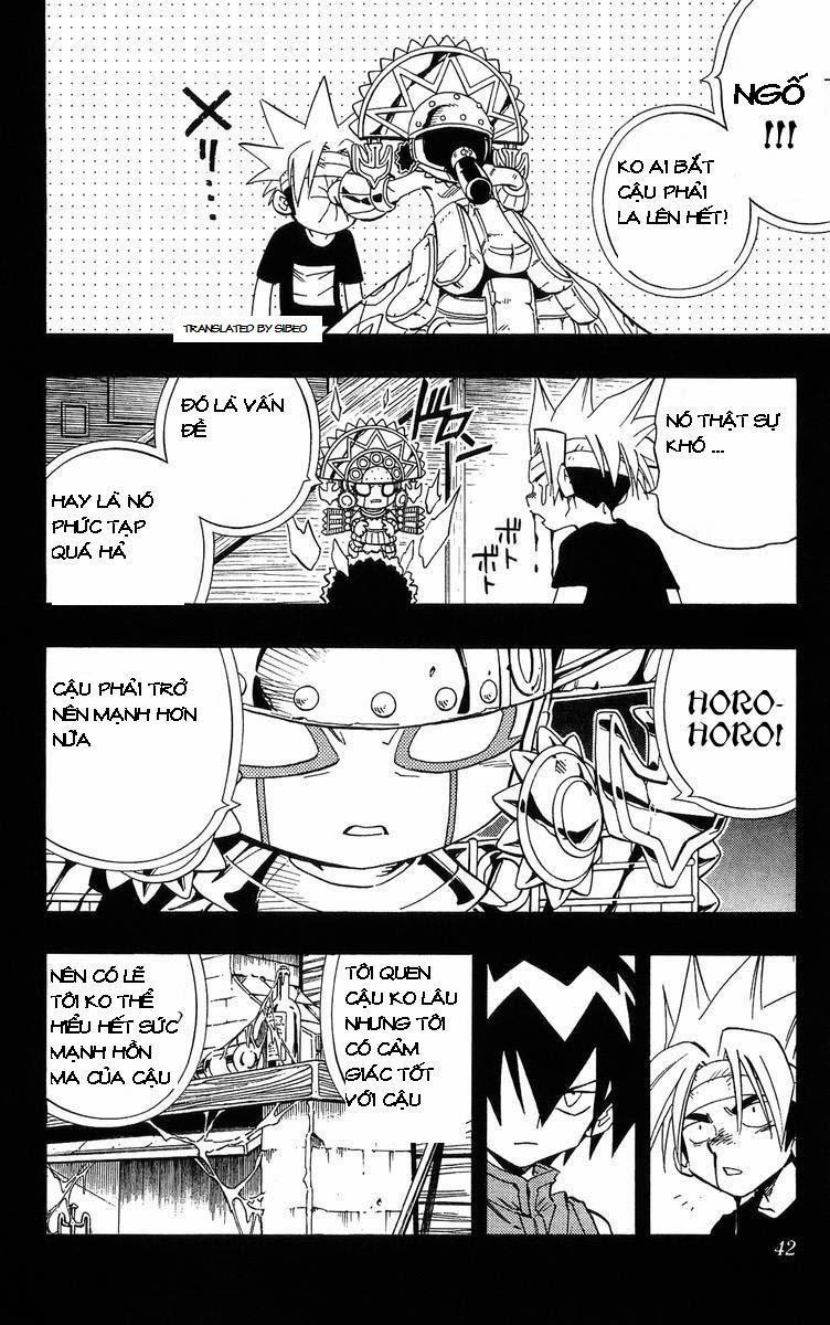 Shaman King [Vua pháp thuật] chap 226 trang 14