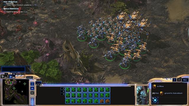 StarCraft 2 | Marching Protoss Army