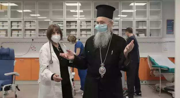 """Το ιερατείο πάντα στο πλευρό των «γνωστών»- Ο Μητροπολίτης Ναυπάκτου Ιερόθεος """"εμβολιάστηκε"""""""