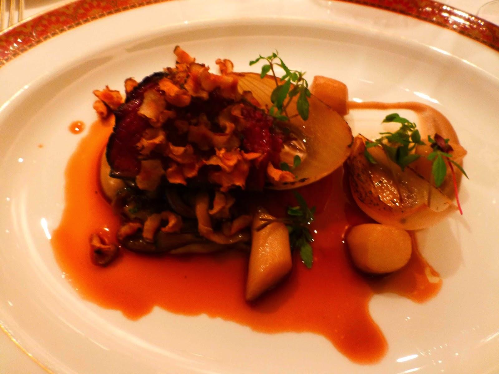 Harmony Cuisine Saint Julien ultimate vintage room dinner? - crystal cruises - cruise