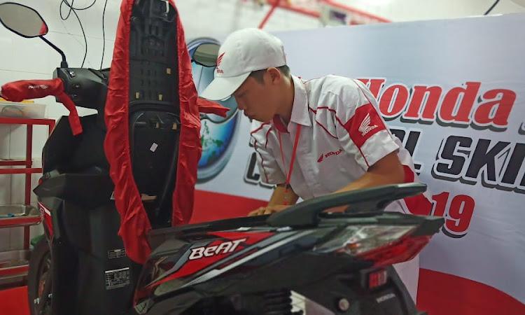 Astra Honda Technical Skill Contest 2019 Digelar