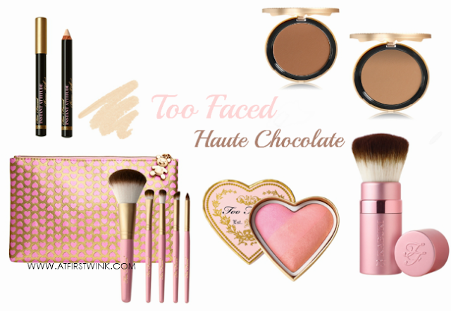 Too Faced Haute Chocolate collection