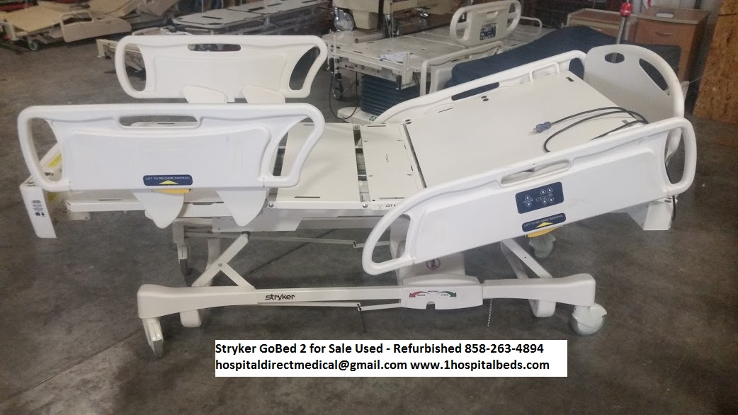 used and refurbished hospital bed company usa dealer broker in hill rom and stryker hospital bed models