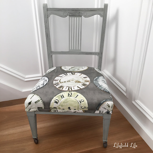 upholstered chair by Lilyfield Life