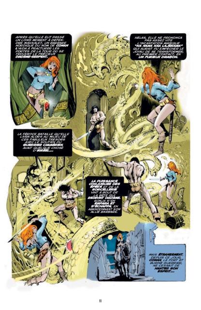 Les aventures originales de Red Sonja La diablesse à l'épée - Les années Marvel, Volume 1 éditions Graph Zeppelin Page 11