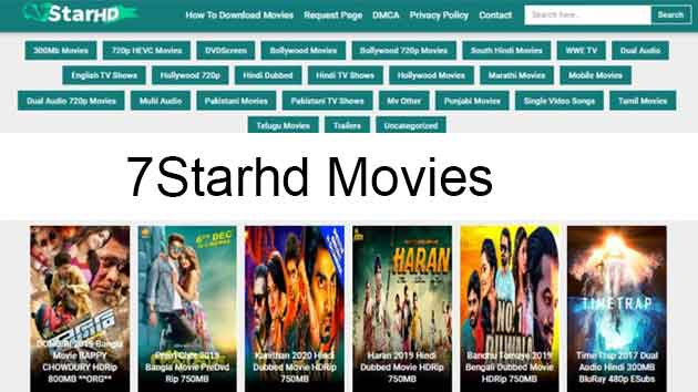 7starhd -Download Hindi Dubbed 300MB Movies Free