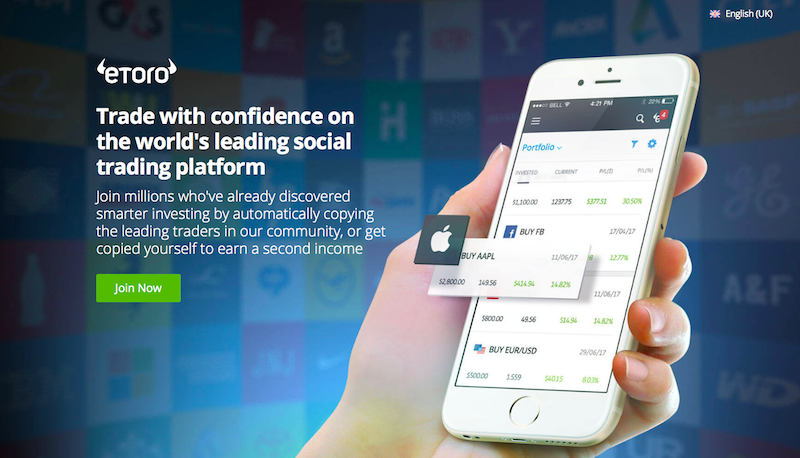 In case you didn't know, eToro is a social trading platform