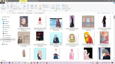 kumpulan databese foto kartun anime islami