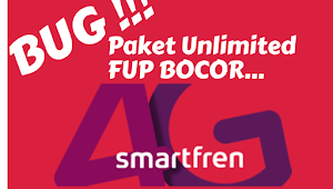 BUG! Internet Unlimited Smartfren Bocor, Internet Gratis Tanpa FUP