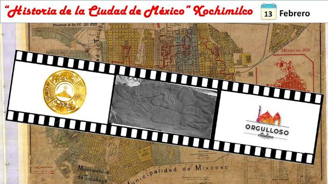 """Sexto recorrido de la serie """"Historia de la Ciudad de México"""" por Xochimilco (1a. parte)"""