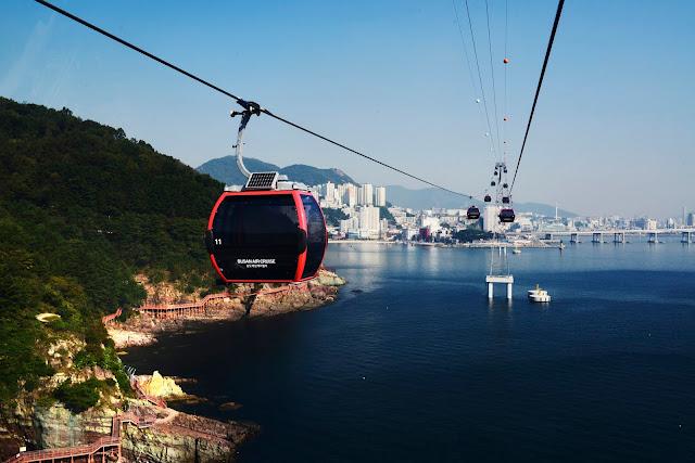 Busan Air Cruise Cable Car