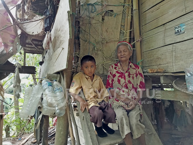 Dibesarkan Oleh Nenek di Gubuk Reot, Mikael Bermimpi Jadi Polisi
