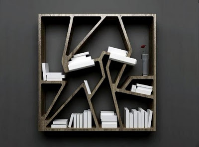 Creative Bookshelves and Awesome Bookcases (15) 13
