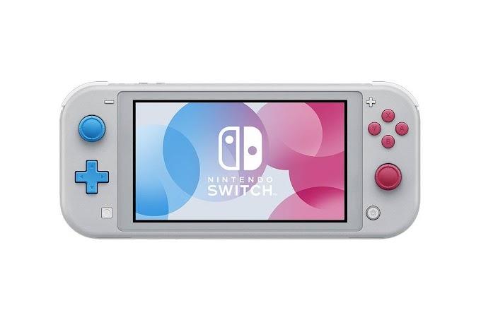 Sorteio concorra a um Nintendo Switch Lite Cinza