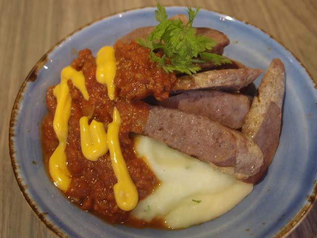 The Butcher's Wagyu Sausage Bowl