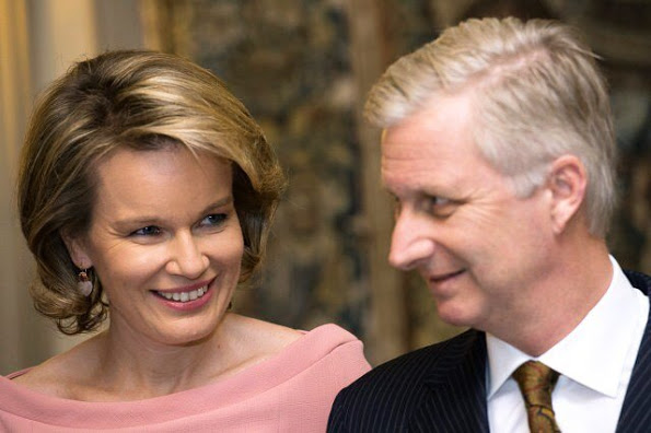 Queen Mathilde And King Philippe At The Conference Belgium In The UN