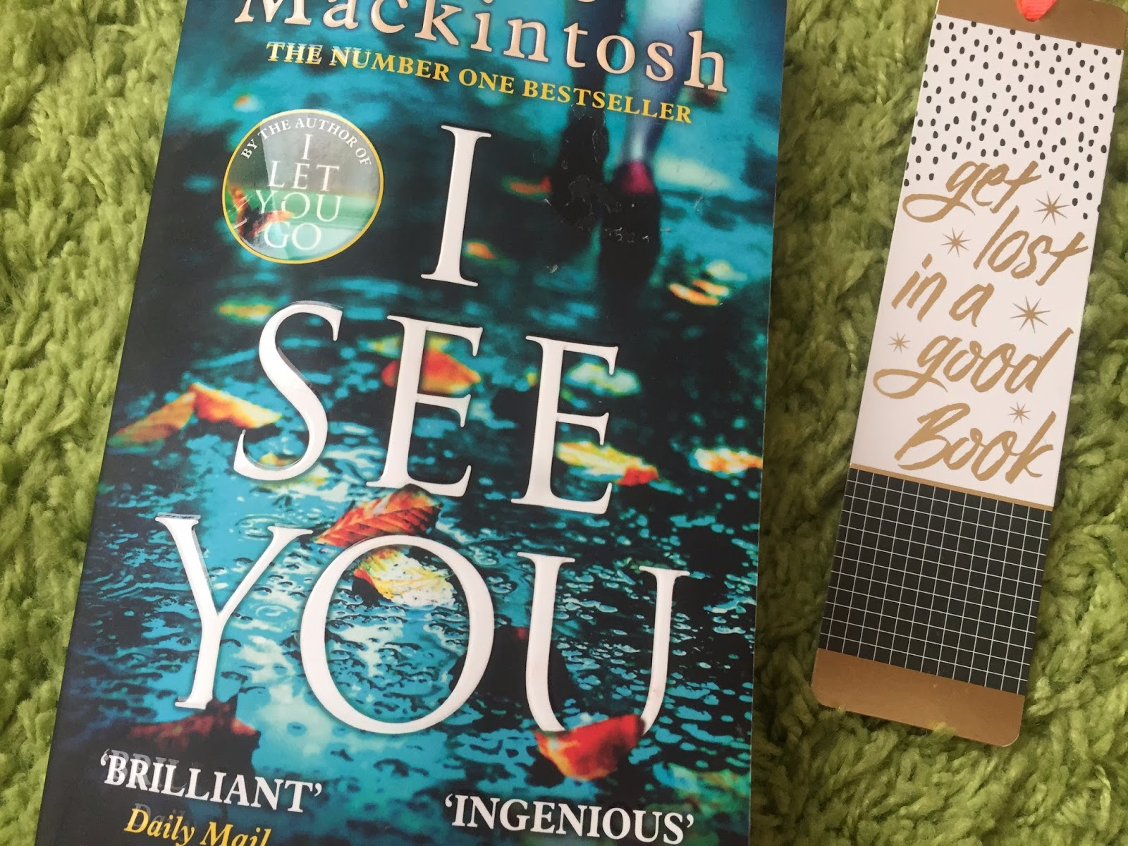Formidable Joy | Formidable Joy Blog | Book Review | Books | I See You | Claire Mackintosh | Thriller | Mystery