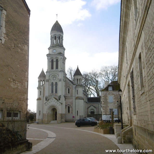 Neo-Byzantine church, Les Ormes, Vienne, France. Photo by Loire Valley Time Travel.