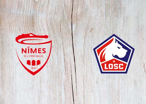 Nîmes vs Lille -Highlights 09 January 2021