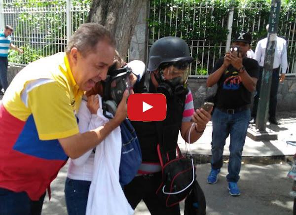 GNB listos para asesinar en la Avenida Victoria y Los Próceres