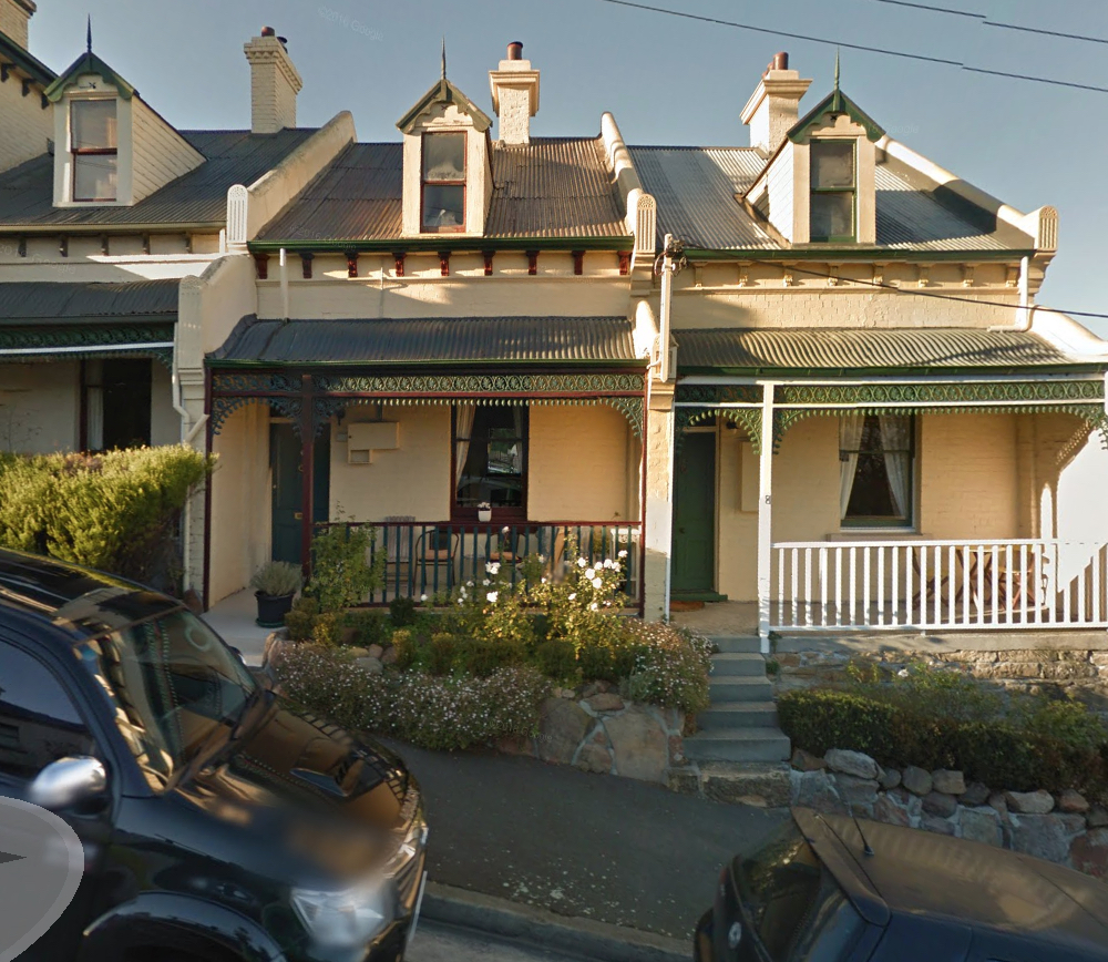 Diary Of Dadness Houses On Hills Inner Suburbs Of Hobart