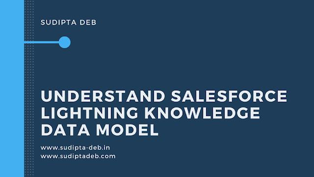 Understand Salesforce Lightning Knowledge Data Model