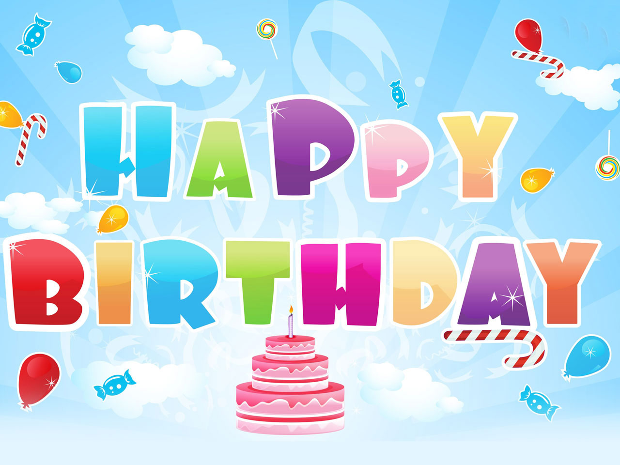 Happy Birthday Animation ECards Share Free Greeting Postcards Images And Video