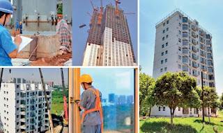 China 10 storey building