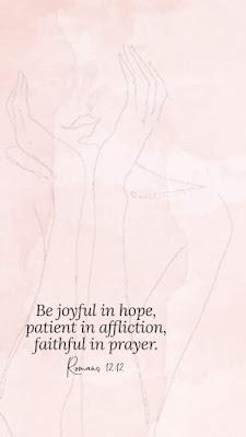 be joyful in hope phone background