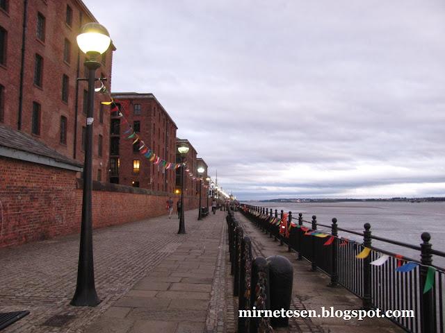 Река Мёрси, Ливерпуль