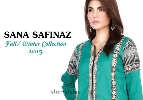 54e9eeff68 Sana Safinaz Winter / Fall Ready-To-Wear 2015-2016 | Sana Safinaz Pret Line  2015 | She-Styles | Pakistani Designer Dresses - Fashion Weeks - Lawn  Collection