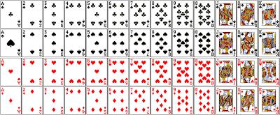 cara bermain sakong, kartu remi