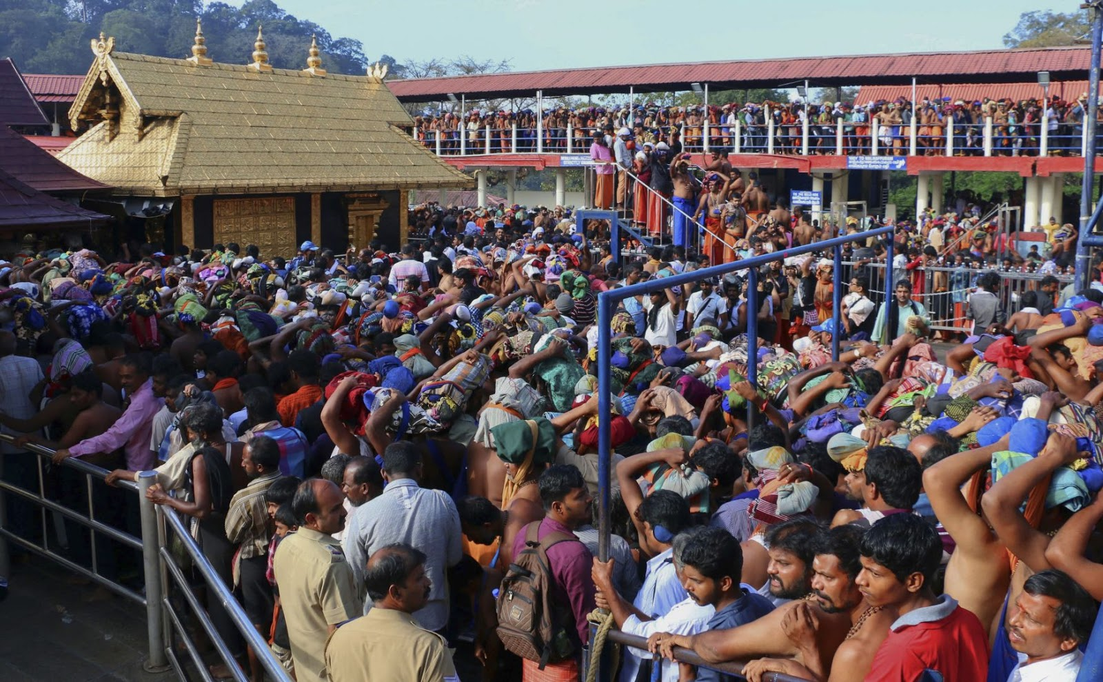 Alert issued by Kerala police - Poison food and water at Sabarimala temple, new threat from ISIS states