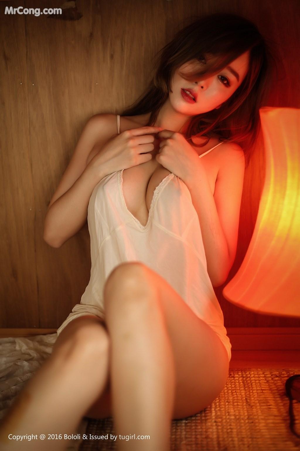 Image BoLoli-2017-08-14-Vol.102-Wang-Yu-Chun-MrCong.com-033 in post BoLoli 2017-08-14 Vol.102: Người mẫu Wang Yu Chun (王雨纯) (49 ảnh)