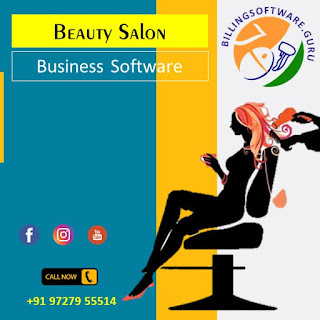Billing Barcoding Accounting Inventory Management with Appointments in Beauty Salon. Gogrugal HD Salon Tally Speed Plus 9.0