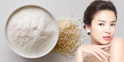 Rice Flour Mask Everyday