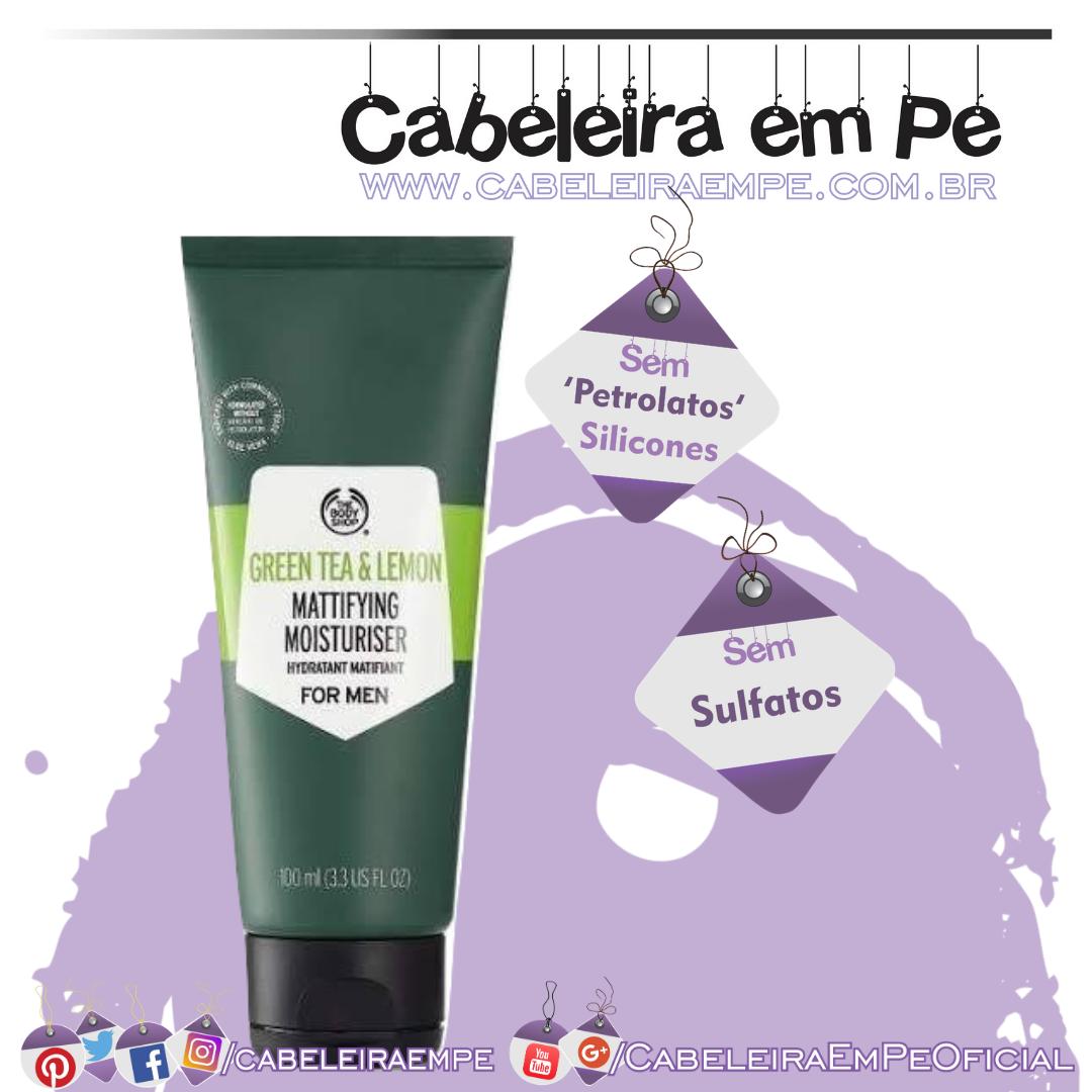 Hidratante Facial de Chá Verde e Limão - The Body Shop