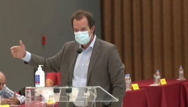 Γιώργος Δέδες: Έντονη ανησυχία στους πολίτες για την εξέλιξη της πανδημίας στην Κορινθία