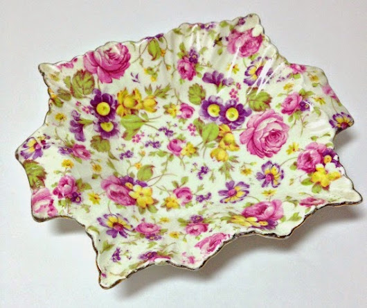 Let's Talk Vintage #30: What is English Chintz China?