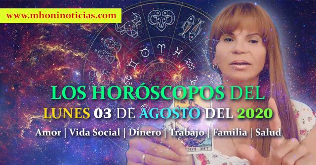 Los Horóscopo del LUNES 03 de AGOSTO del 2020 - Mhoni Vidente