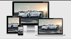 Build Responsive website using HTML5, CSS3 and Javascript