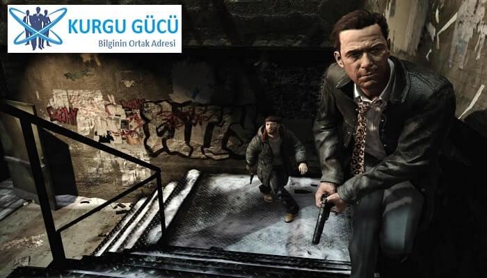 Film Olan Oyunlar Listemizde 8 Harika Oyun - Max Payne - Kurgu Gücü