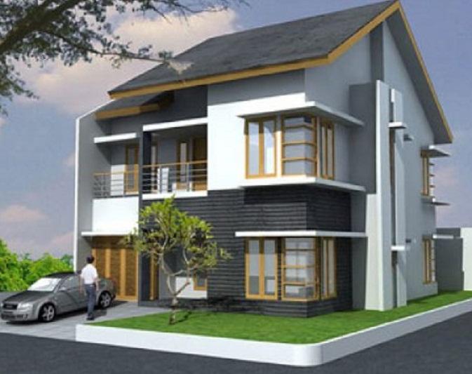 Kombinasi Warna Cat Rumah Kayu  49 warna warna cat tembok rumah minimalis
